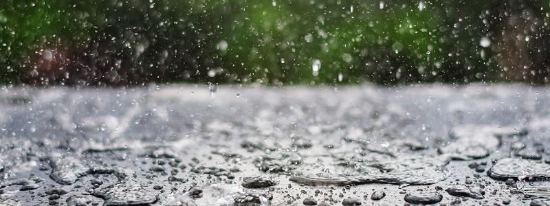 Schilderen in de regen